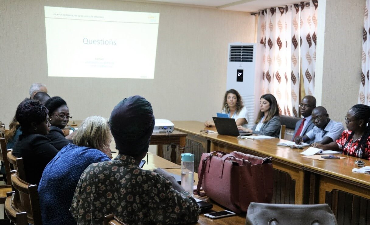 Meeting of nutrition sector stakeholders at the Ministry of Health, Lomé, 1st march 2019