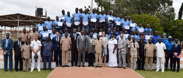 Organisateurs et participants à la formation