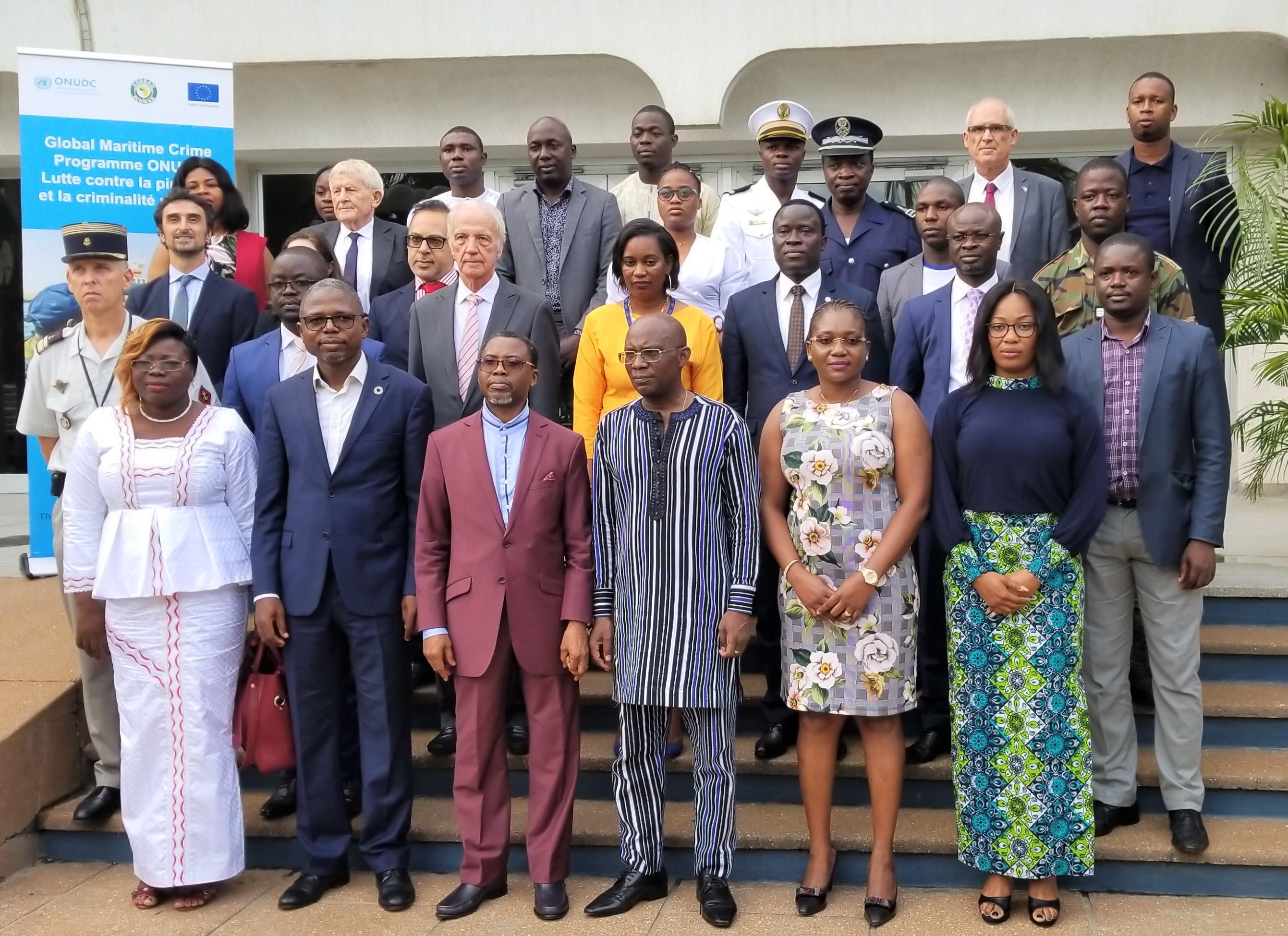 Droit maritime: Des experts togolais formés sur la criminalité maritime