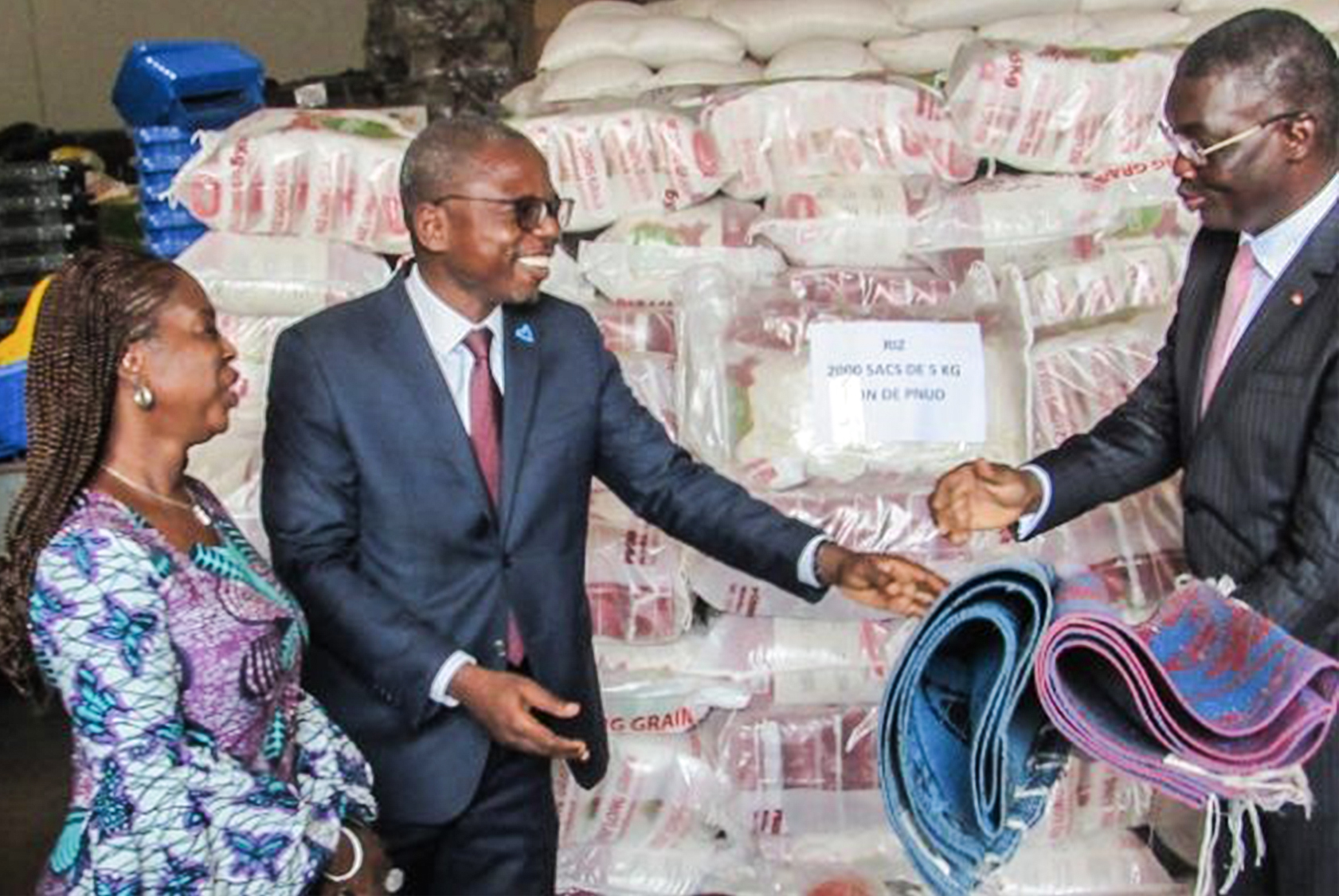 Les Nations Unies assistent les victimes de inondations au Togo