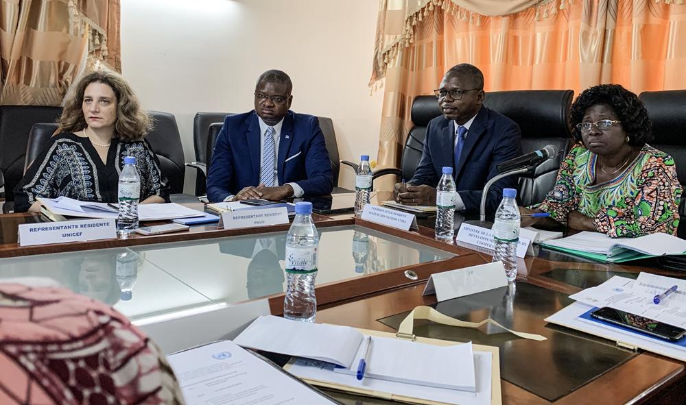 Deuxième réunion du Comité de pilotage du projet PBSO