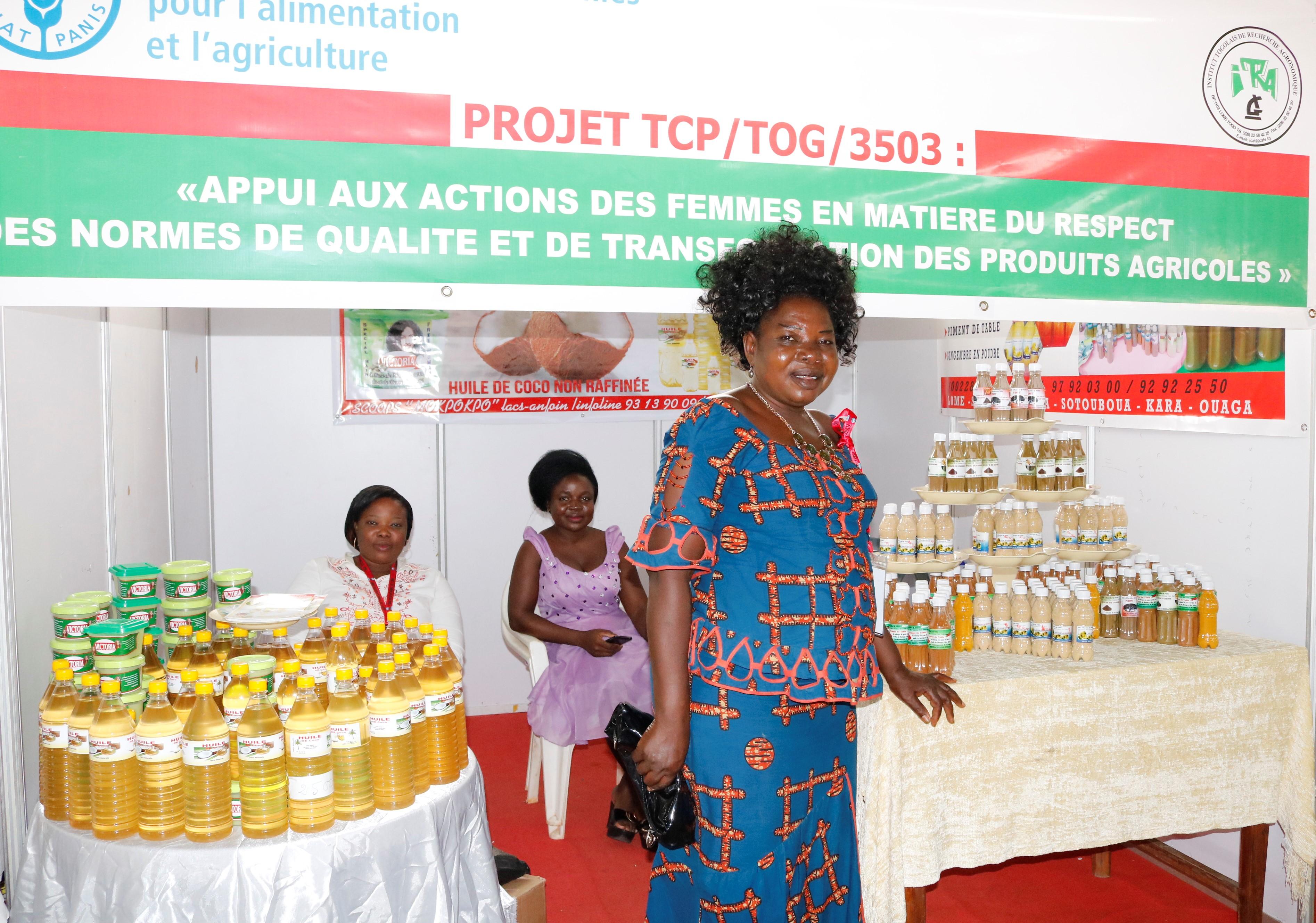 Togo: l'appui de la FAO aux femmes transformatrices de produits agricoles porte ses fruits