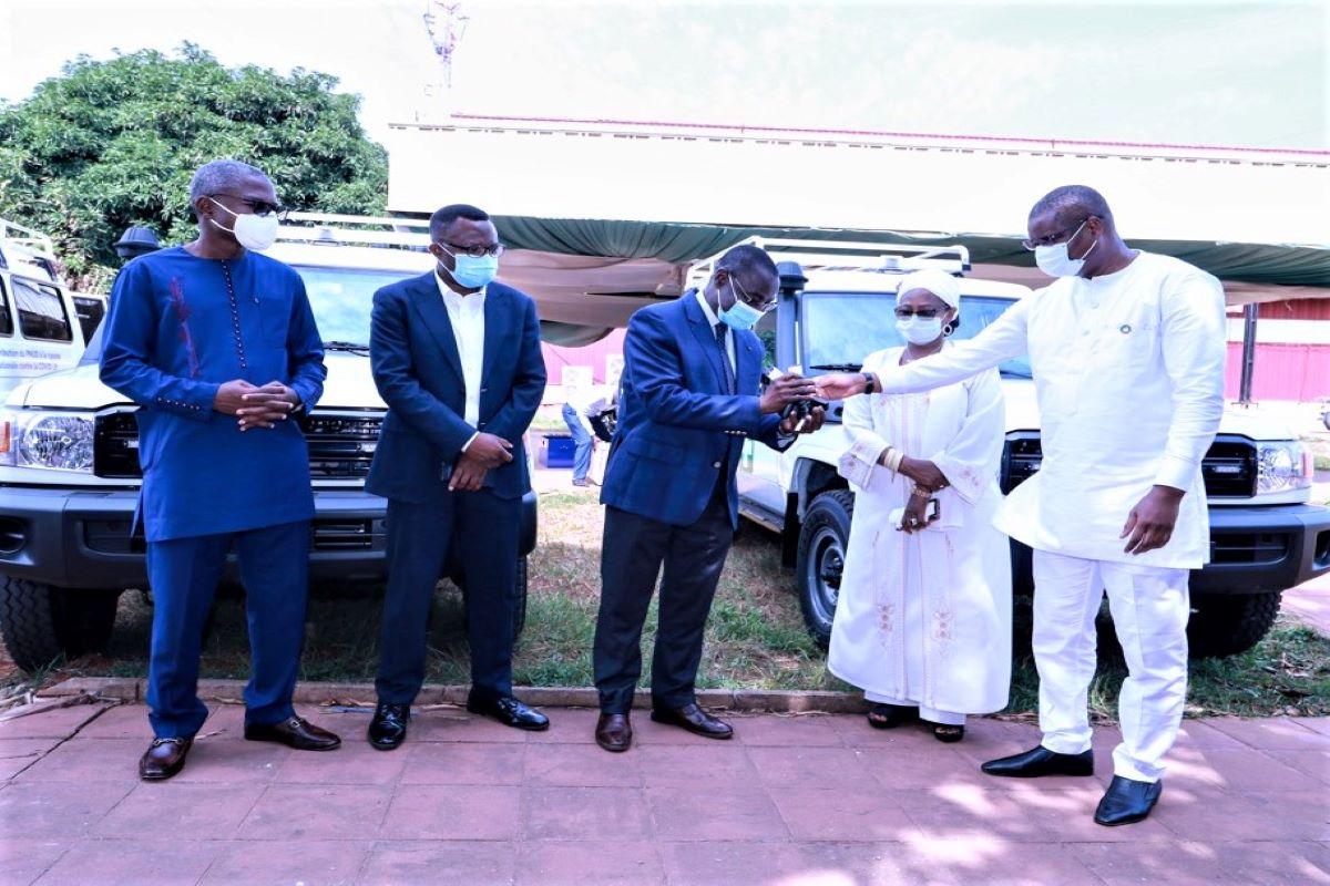Lutte contre la COVID 19 au Togo: Le PNUD appuie le ministère de la santé