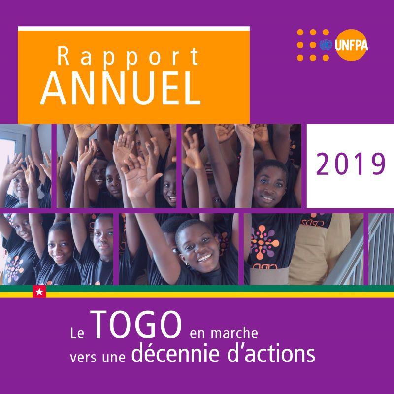 Rapport annuel 2019 du FNUAP: Le Togo en marche vers une décennie d'action