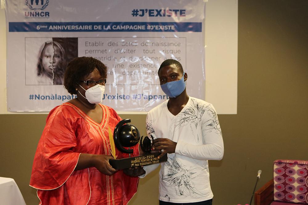 Concours de rédaction de poème sur l'apatridie 2020: Le HCR Togo prime les lauréats