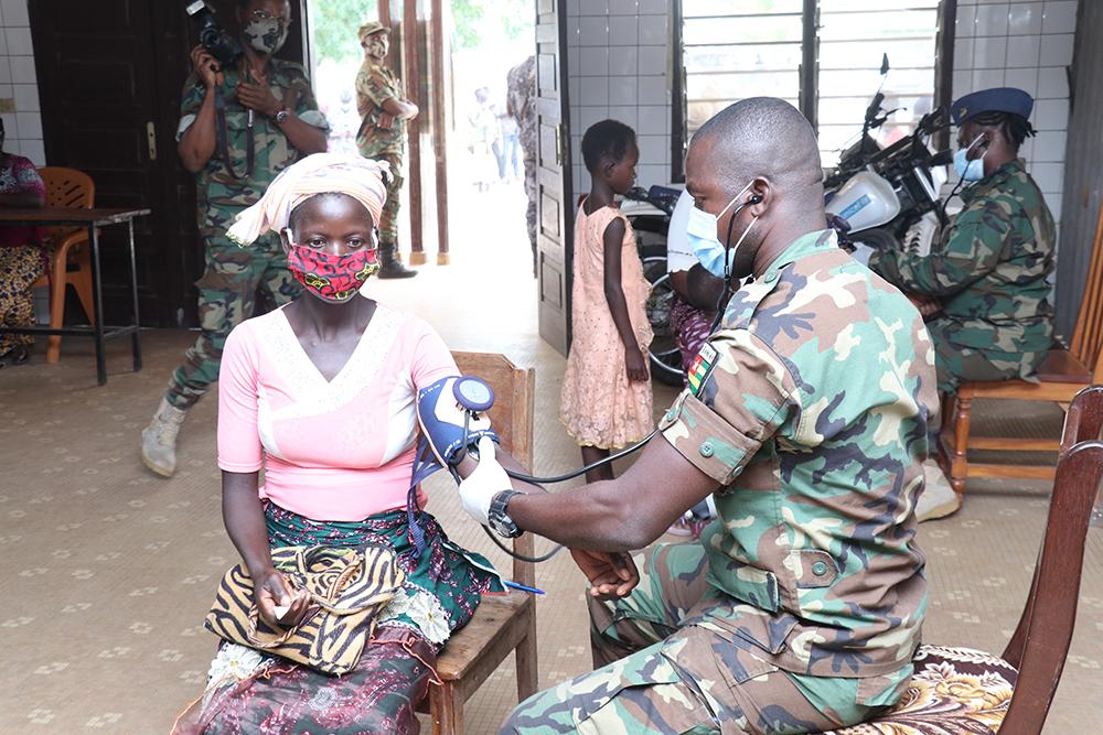Togo: des soins pour renforcer les relations civilo-militaires